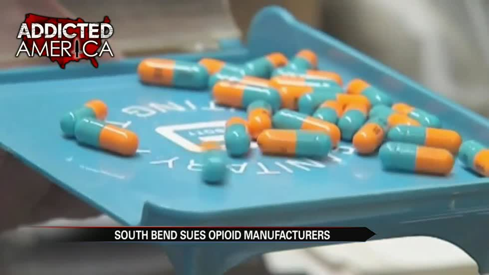 South Bend to file lawsuit for restitution in opioid crisis