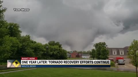 One year later: South Bend continues recovery from Tornado