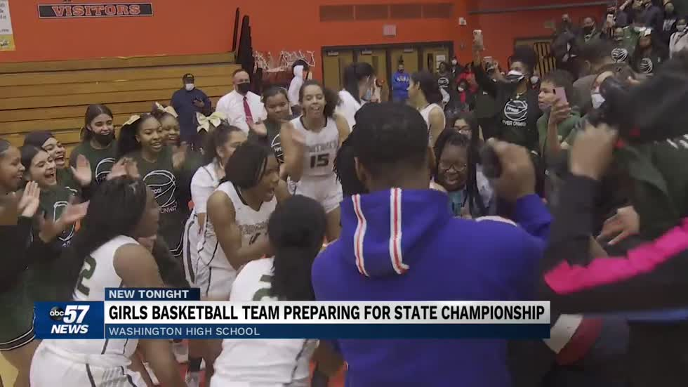 South Bend Washington girls basketball team gearing up for state...