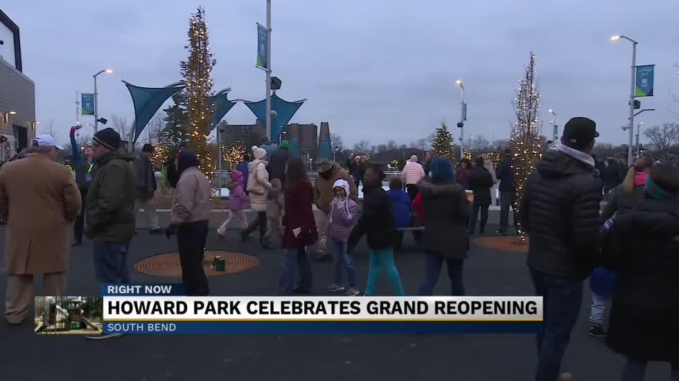 South Bend's historic Howard Park reopens with major upgrades