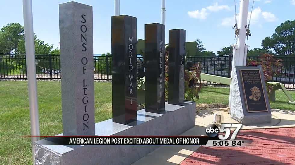 South Haven American Legion Post has 3 Medal of Honor recipients