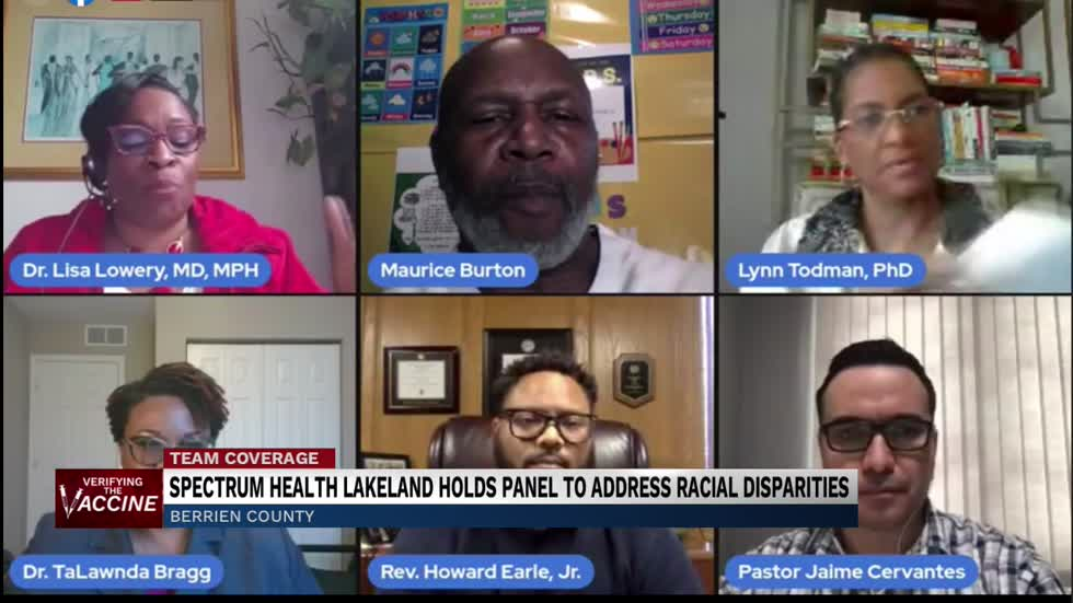 Panel addresses racial disparities in Berrien County's vaccine...