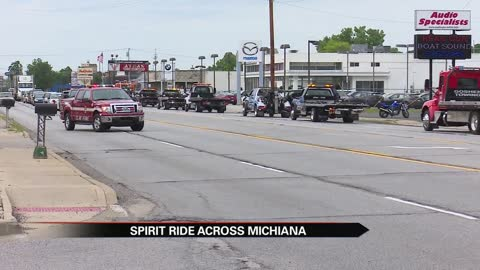 Spirit Ride raises awareness for road safety
