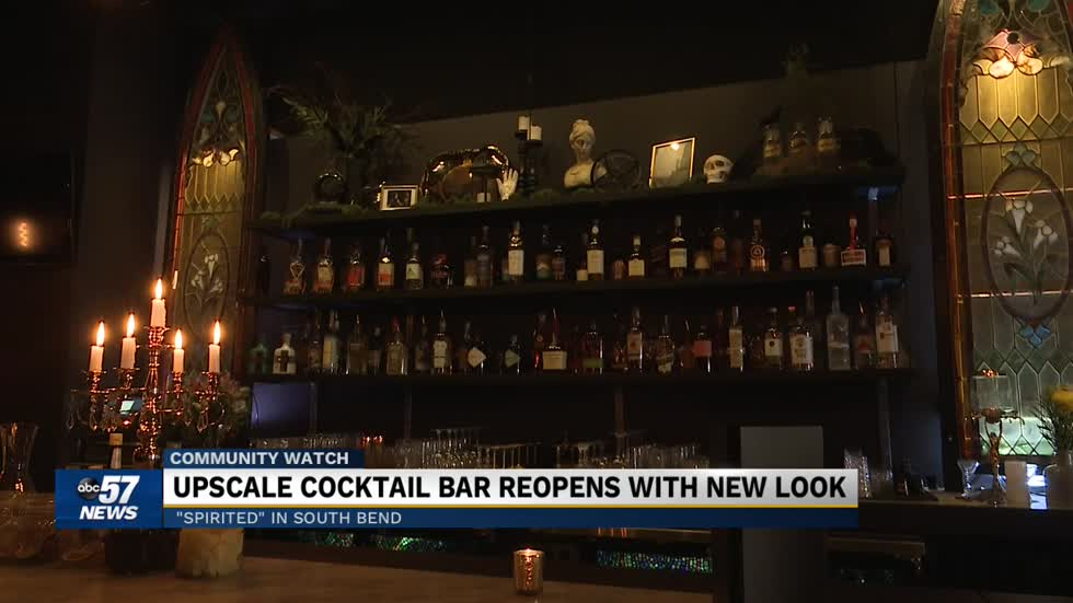 Spirited cocktail bar reopens