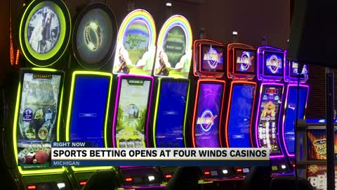 Sports book opens at Four Winds Casino in New Buffalo 2