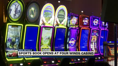 Sports book opens at Four Winds Casino in New Buffalo
