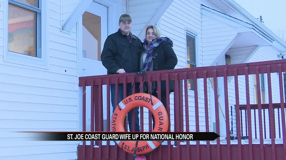 St. Joseph Coast Guard spouse up for national honor