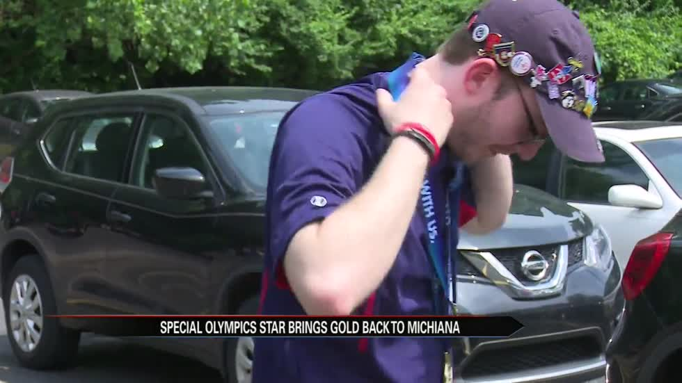 St. Joe County swimmer wins gold at national Special Olympics