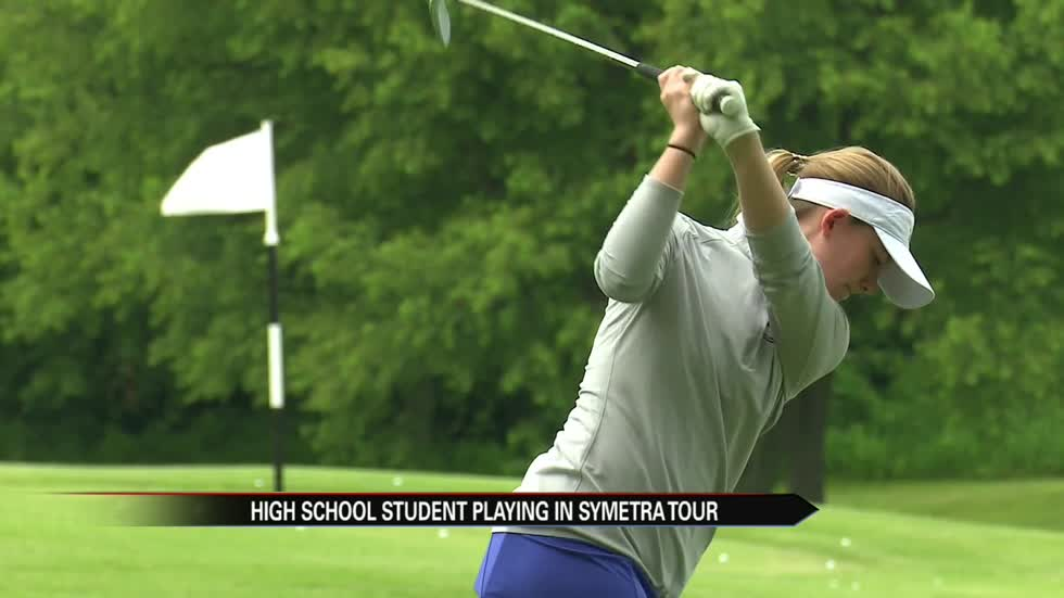 St. Joe teen competing with the pros at Four Winds Invitational
