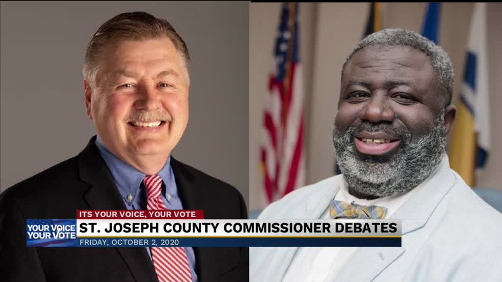 St. Joseph County Commissioners debates ahead of the general...