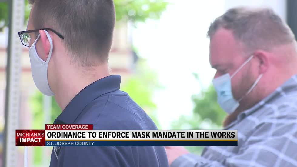 St. Joseph County Department of Health supports fines for not wearing a mask