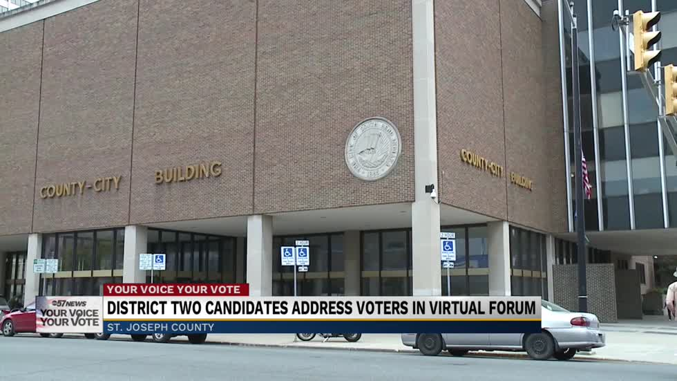 St. Joseph County District 2 county commission candidates participate in online forum