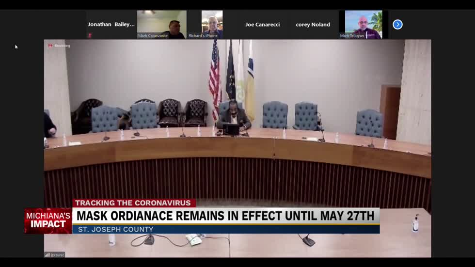 St. Joseph County mask ordinance remains in effect until May 27