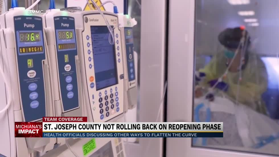 St. Joseph County not rolling back on reopening phase