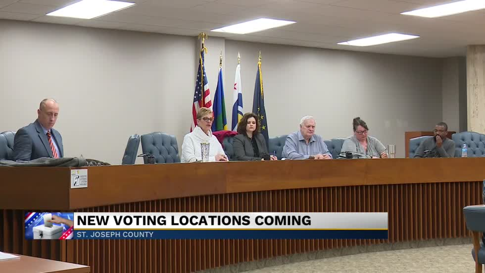 St. Joseph County officials discuss changes to voting centers at public hearing
