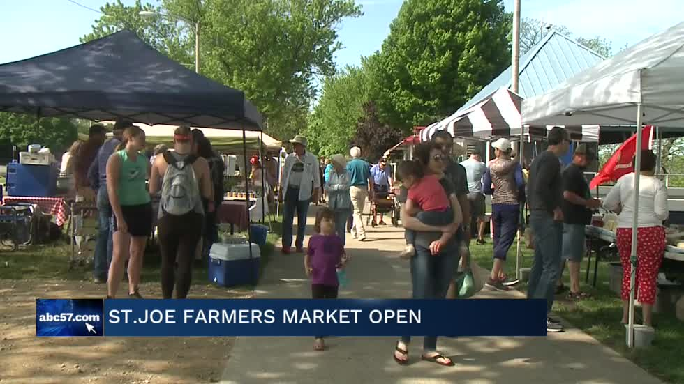 St. Joseph Farmers Market opens for 2019 season