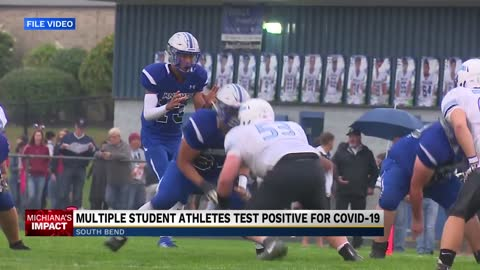 St. Joseph High School student athletes test positive for COVID-19