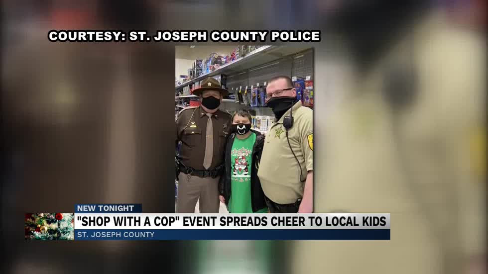 "St. Joseph Police Department holds annual ""Shop with Cops"" event"