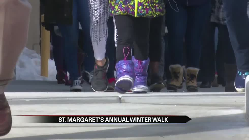 St. Margaret's House annual Winter Walk gathers huge crowd