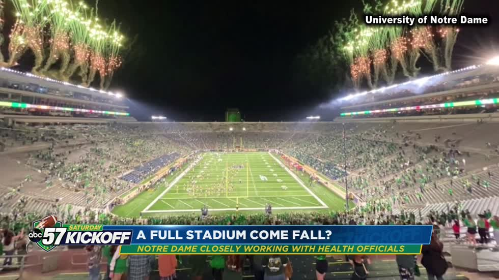 Stadium capacity still a question for Notre Dame fans