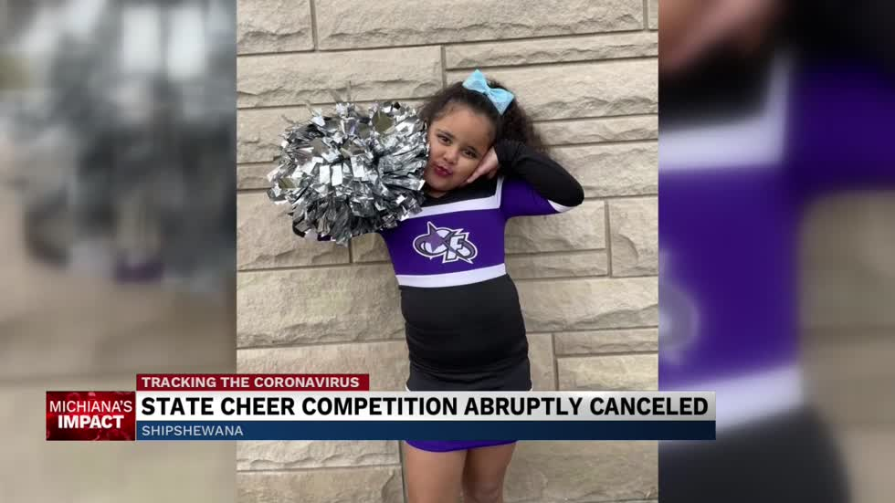 State cheer competition abruptly canceled