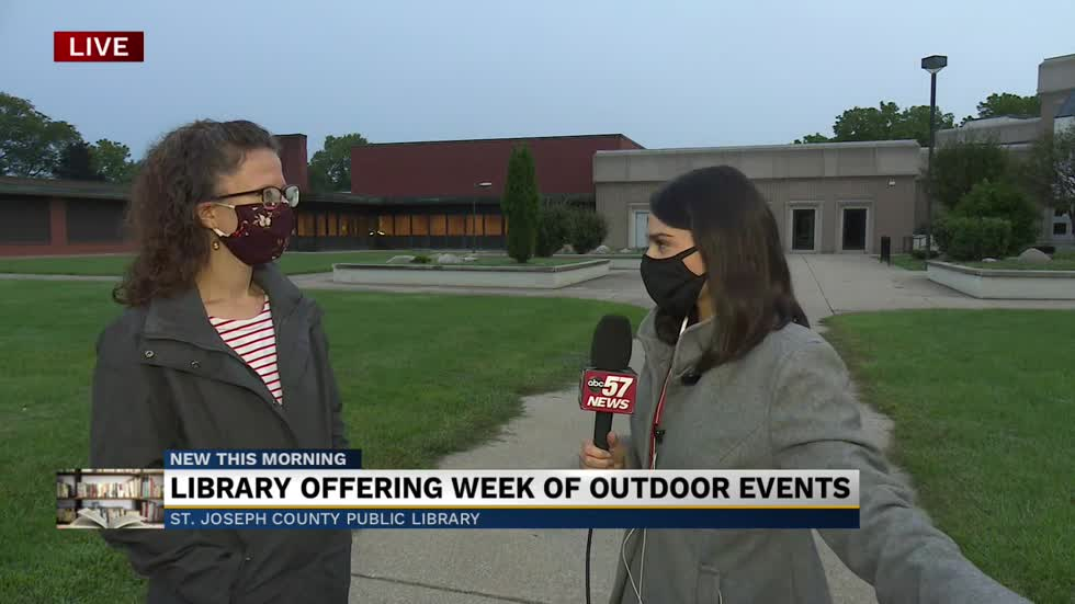 St. Joseph County Public Library offering week of outdoor events