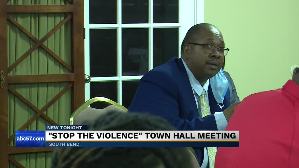 South Bend leaders hold Town Hall over gun violence