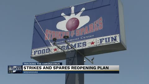 Strikes and Spares reopening plan