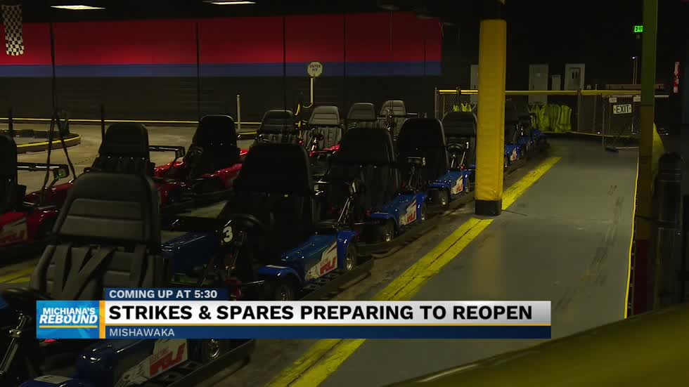 Strikes & Spares in Mishawaka preparing to reopen