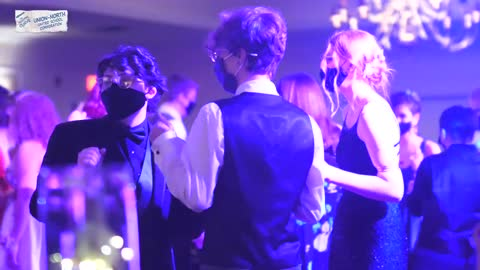 Students dance the night away after last years prom was cancelled