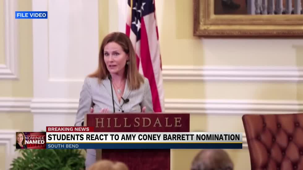 Amy Coney Barrett Students 'proud' of her nomination