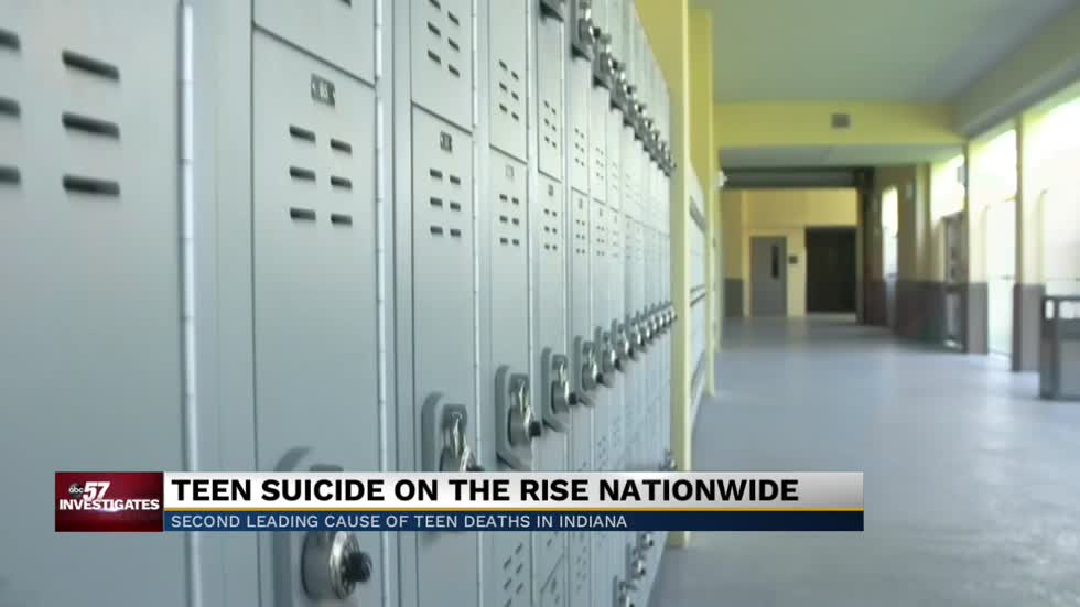 Suicide is the second leading cause of death for Indiana teens