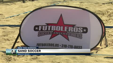 Summer sand soccer camp making coming to Mishawaka