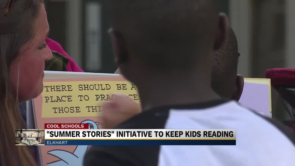 Cool Schools: New initiative works to keep kids reading during summer months