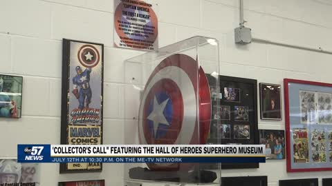 Elkhart Super Heroes Museum to be featured on Collector's Call tv show