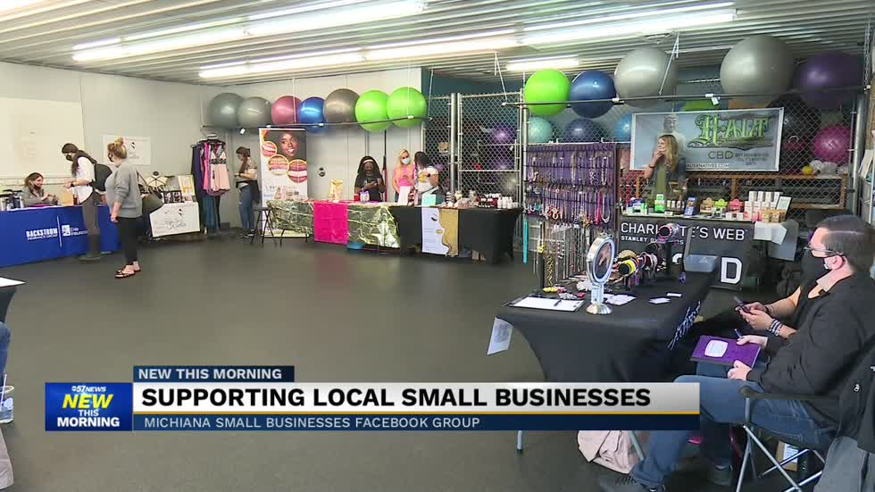 'Michiana Small Businesses' group page helping small business...