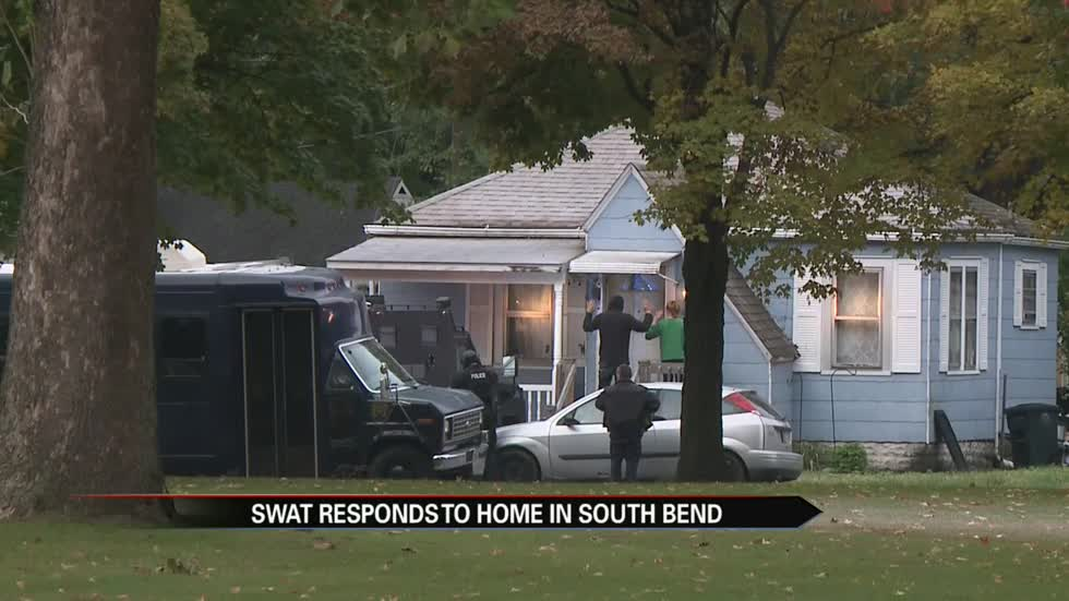 SWAT responds to home in South Bend