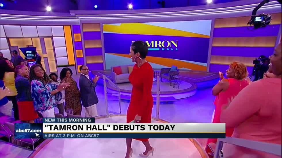 Tamron Hall on new show: 'We'll laugh together, we'll cry together, we'll learn'