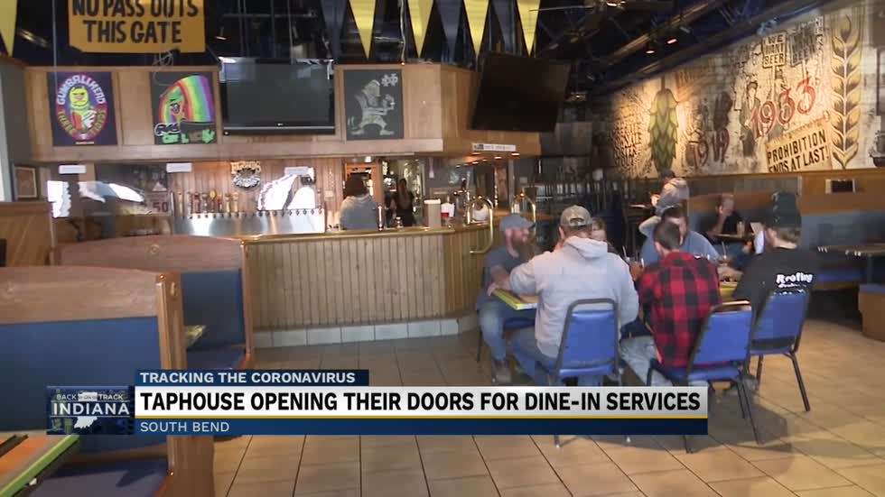 Taphouse on the Edge reopens after pandemic lockdown