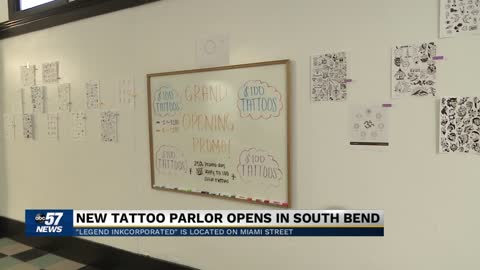Tattoo shop opens despite pandemic