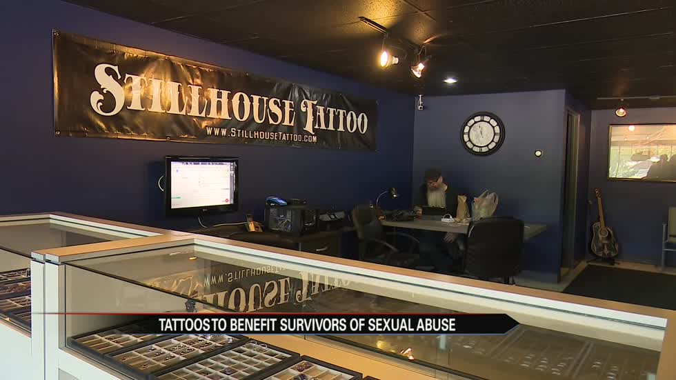 Tattoos to benefit survivors of sexual abuse