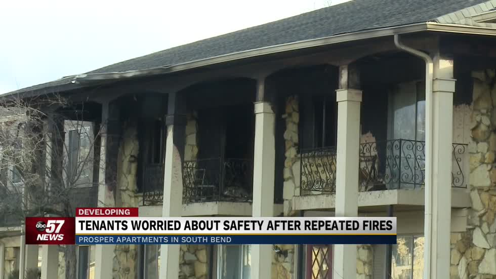 Tenants worried about safety after repeated fires