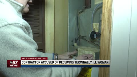 Terminally ill woman says contractor took hundreds without doing work