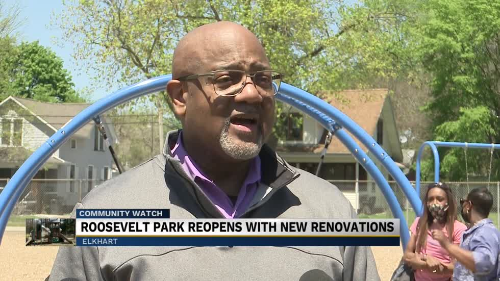 The City of Elkhart opened Roosevelt Park back to the public