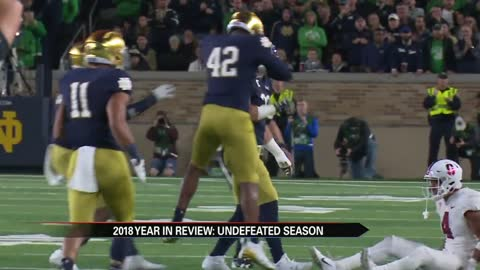 The Fighting Irish gear up for the Cotton Bowl Classic, a year...