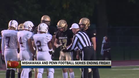 The Penn and Mishawaka football rivalry will come to an end on Friday – for now