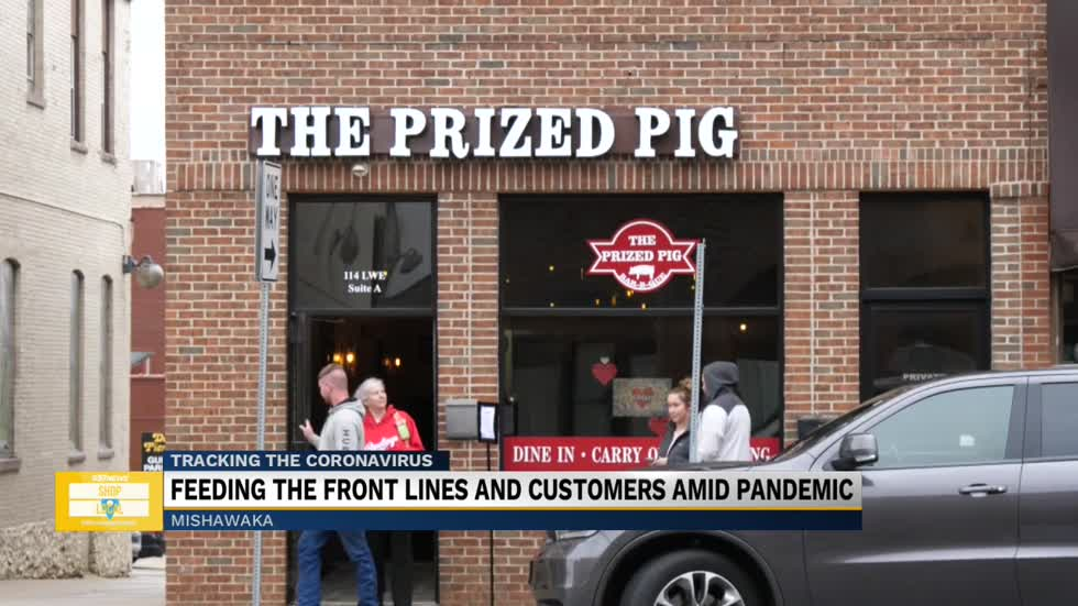 The Prized Pig donates meals to frontline workers by raising money with pop-up events
