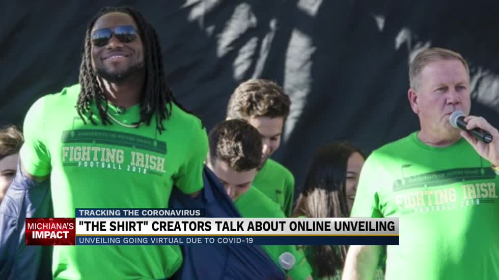 """The Shirt"" unveiling goes virtual"