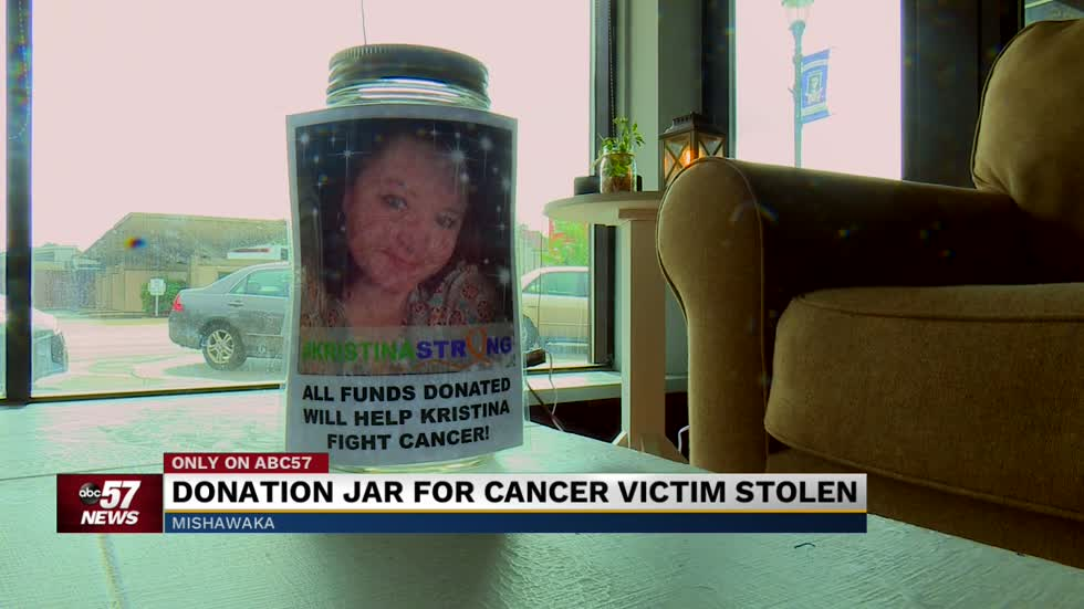 Thief steals donation jar meant for woman fighting cancer