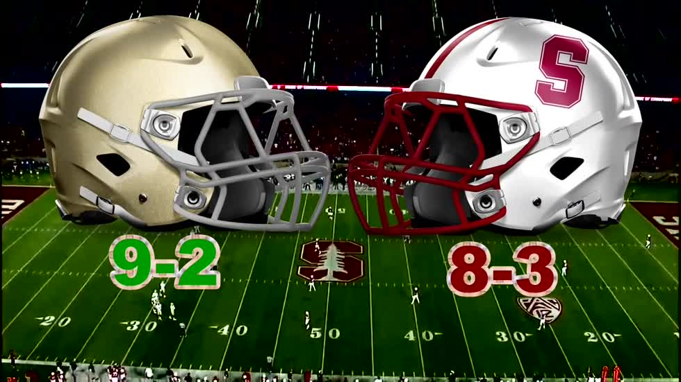 The history of the Notre Dame - Stanford rivalry
